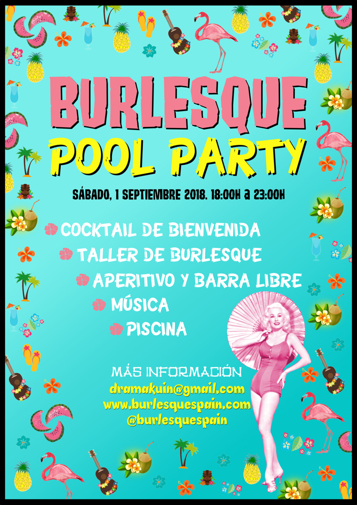 BURLESQUE POOL PARTY XS