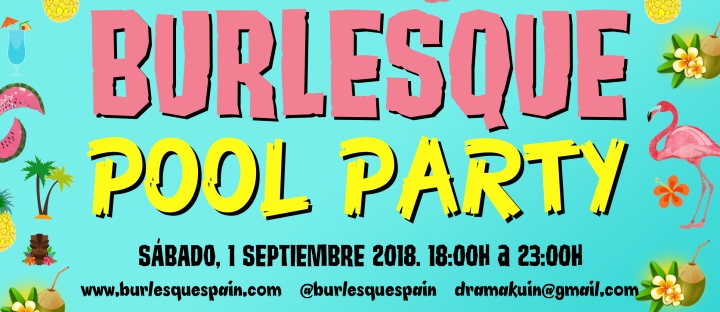 BURLESQUE POOL PARTY BANNER
