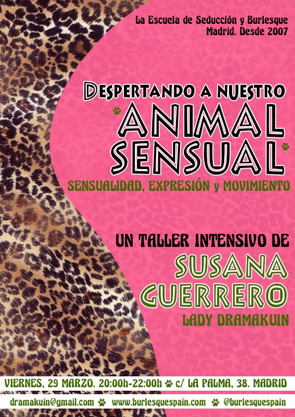ANIMAL SENSUAL MARZO19