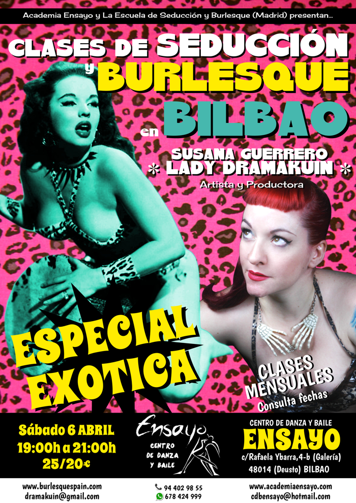 BILBAO ABRIL EXOTICA XS