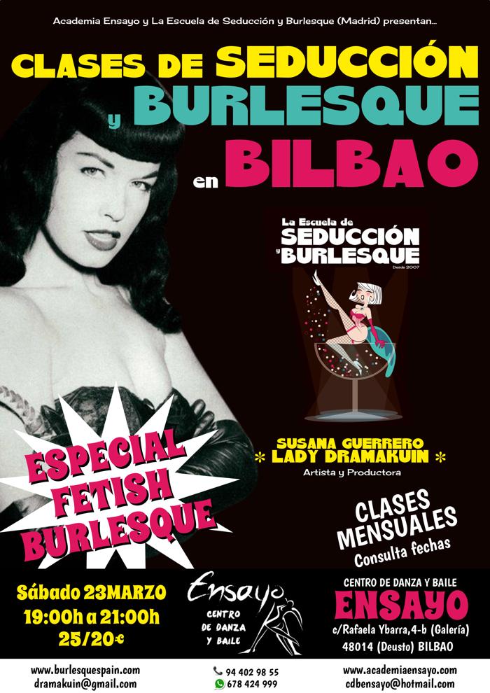 BURLESQUE BILBAO MARZO FETISH XS
