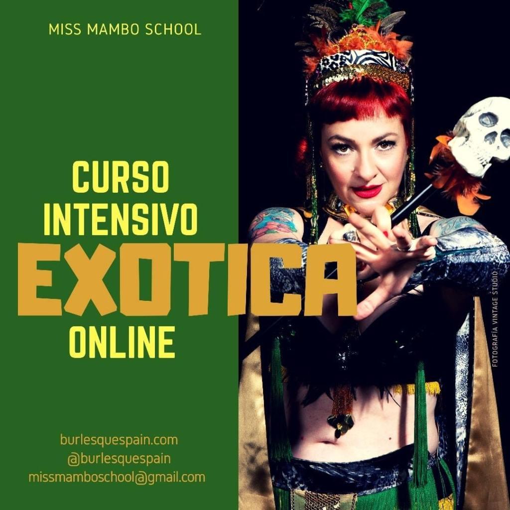 Curso Intensivo de EXOTICA Burlesque Online